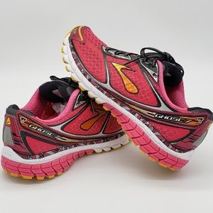 Brooks Ghost G7 Running Shoes Sz 8.5 Pink Womens